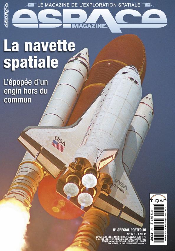 """Revues : """"Espace Magazine"""" numéro 36 HS Navette Espace10"""