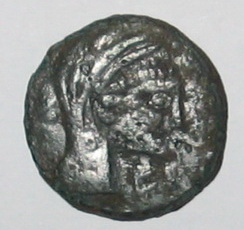Unité ou bronze au taureau, (MB, Æ 26) - 121-45 AC. NEDENES As_a_i13