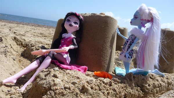 Mes photos de Monster High Plage10