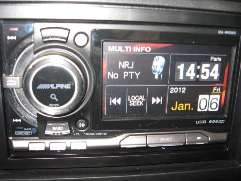 questions autoradio et HP Multii11