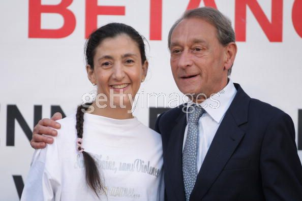 Ingrid Betancourt respire l'air de la France 81825710