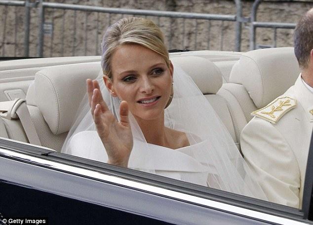 MARIAGE à MONACO  PRINCE ALBERT - CHARLENE F_bmp10