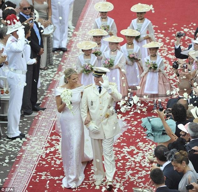 MARIAGE à MONACO  PRINCE ALBERT - CHARLENE Untitl11