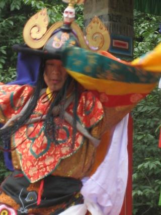 Le Tcham, Danse sacrée des Tibétains Chauss13