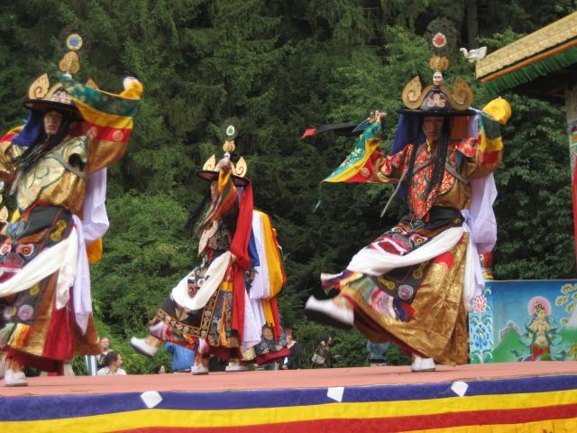 Le Tcham, Danse sacrée des Tibétains Chauss14