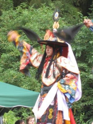 Le Tcham, Danse sacrée des Tibétains Chauss15