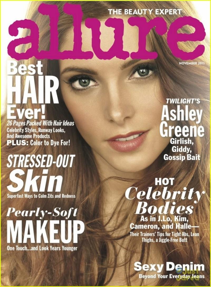 En couverture d''Allure' November 2011 Ashle109