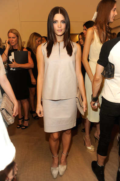 At the Women's S12 Calvin Klein Collection [15-09-11] Ashley85