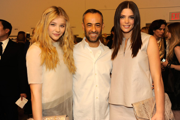 At the Women's S12 Calvin Klein Collection [15-09-11] Ashley86