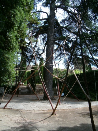 MONUMENTAL Exposition de sculpture au château de Mandelieu Hpim2320