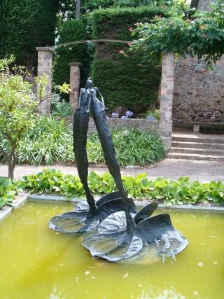 MONUMENTAL Exposition de sculpture au château de Mandelieu Hpim2321