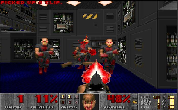 FAN DE Doom Like, heu pardon de FPS Doom10