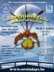 Orchidays 2012 au plan incliné de Ronquières (Belgique) Affich10