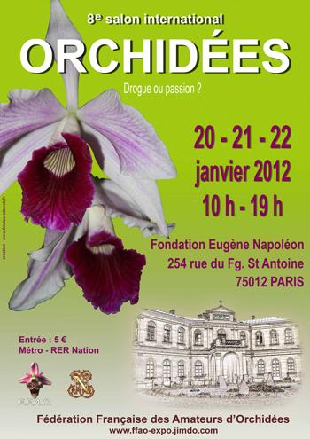 Salon international d'orchidées organisé par la F.F.A.O. Paris_10