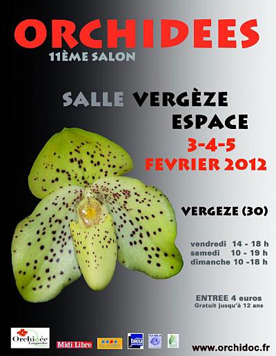11ème salon d'orchidées à Vergèze (30 GARD) Vergez10