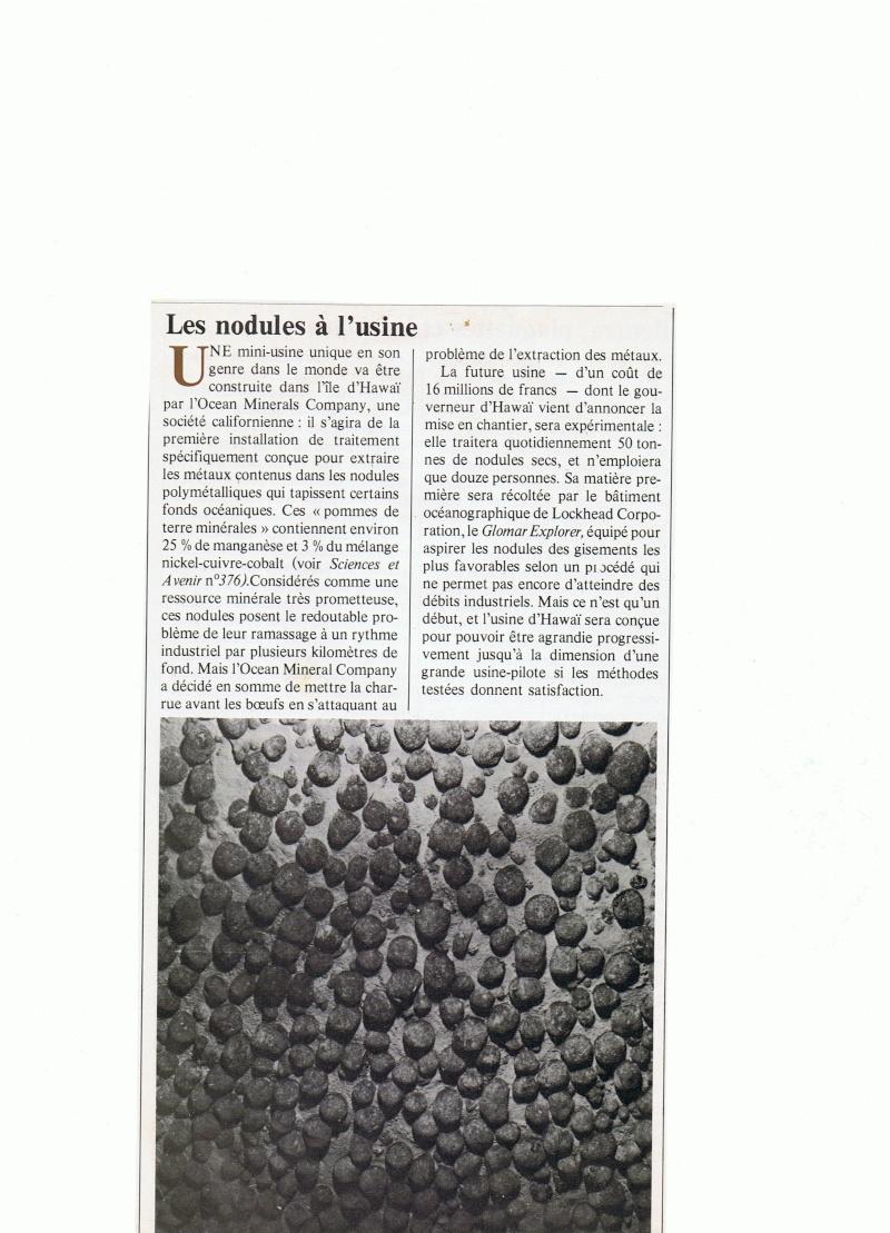 Nodule Polymetallique Cci05010