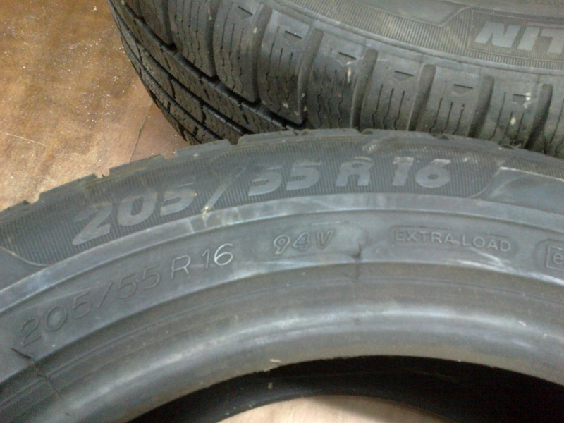 2 pneus en 205/55 R16 02122014