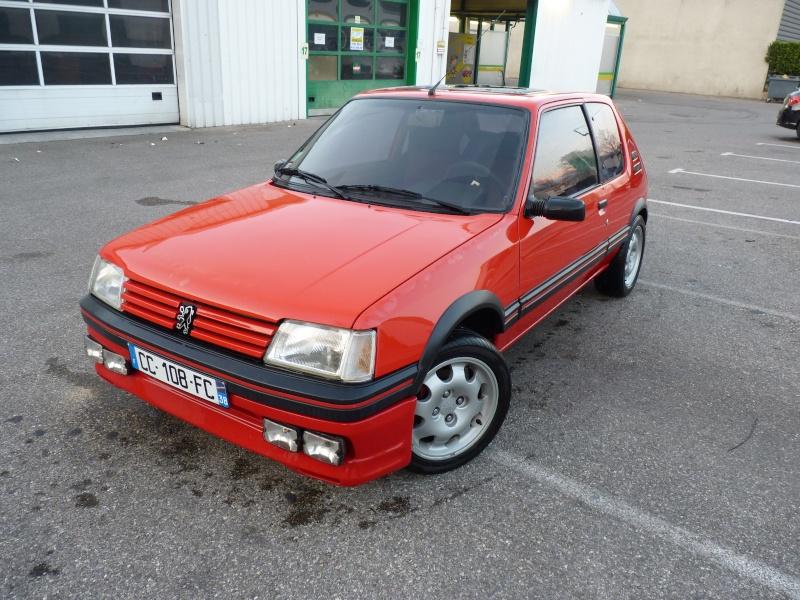 [Pipo] 205 GTI 1,6 rouge AM 91 Avancement et photos p.2 07710