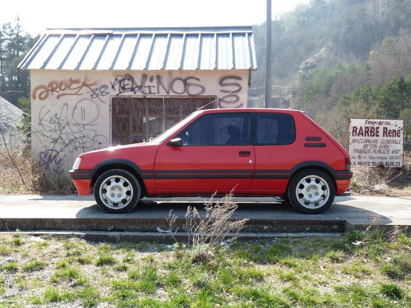 [Pipo] 205 GTI 1,6 rouge AM 91 Avancement et photos p.2 Tim_ch12