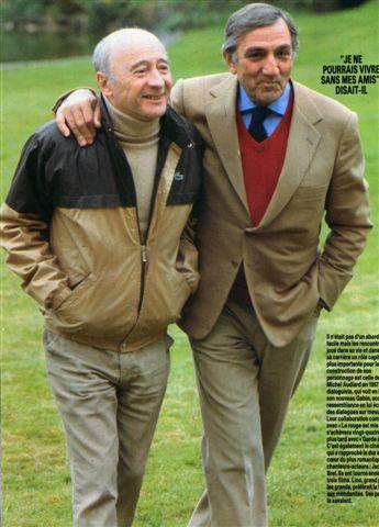 Michel Audiard et Lino Ventura Lino3212