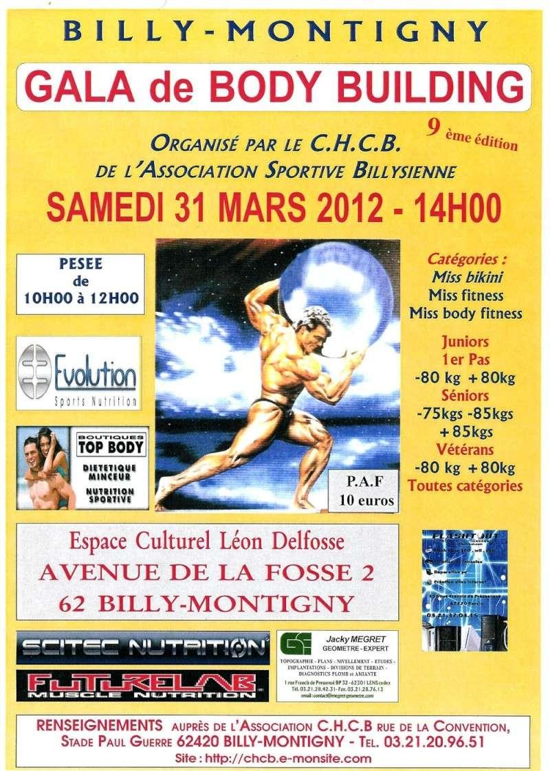 9ème édition du GALA DE BILLY-MONTIGNY le 31 mars 2012 Affich11