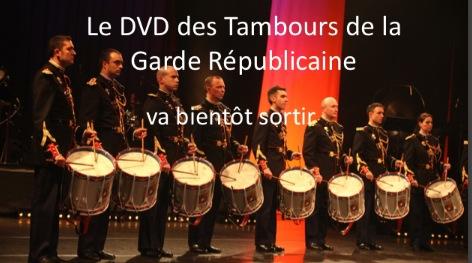Sortie du DVD des Tambours de la Garde Républicaine. Photo10