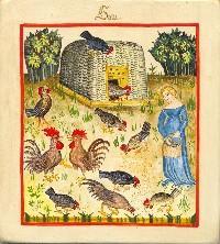 Iconos XVème siècle: vannerie, paniers,..... Fermie11