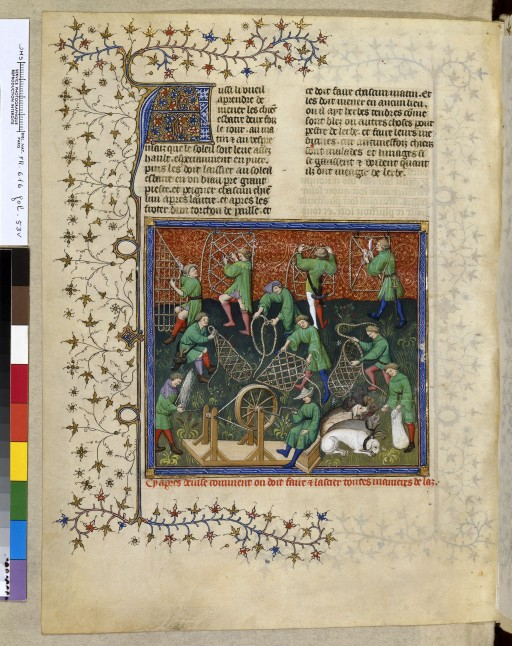 Iconos XVème siècle: vannerie, paniers,..... Prepar10