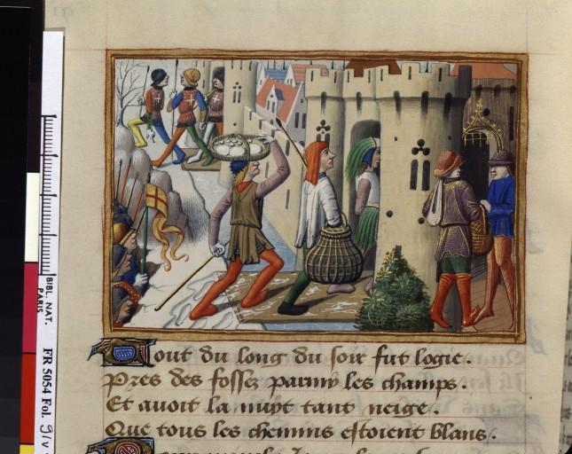 Iconos XVème siècle: vannerie, paniers,..... Prise_10