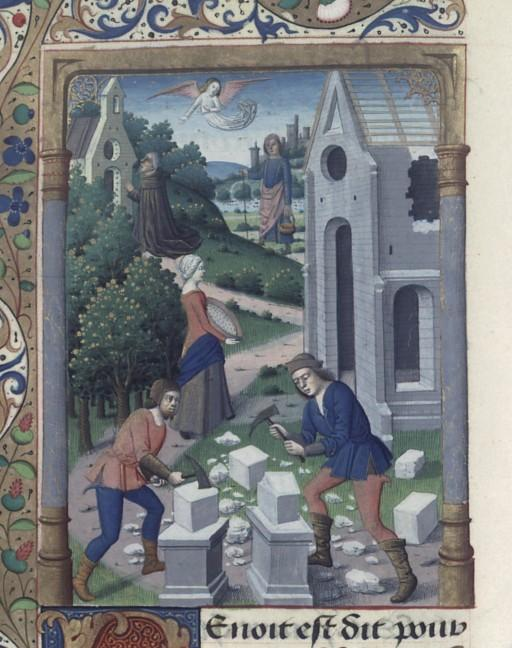 Iconos XVème siècle: vannerie, paniers,..... St_ben10