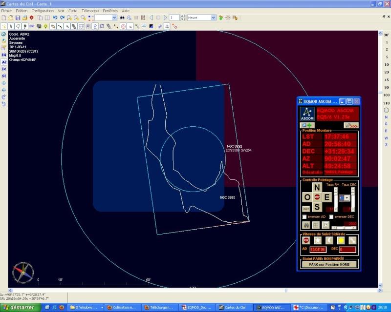 Collimation motorisée LX200 Meade Cc211