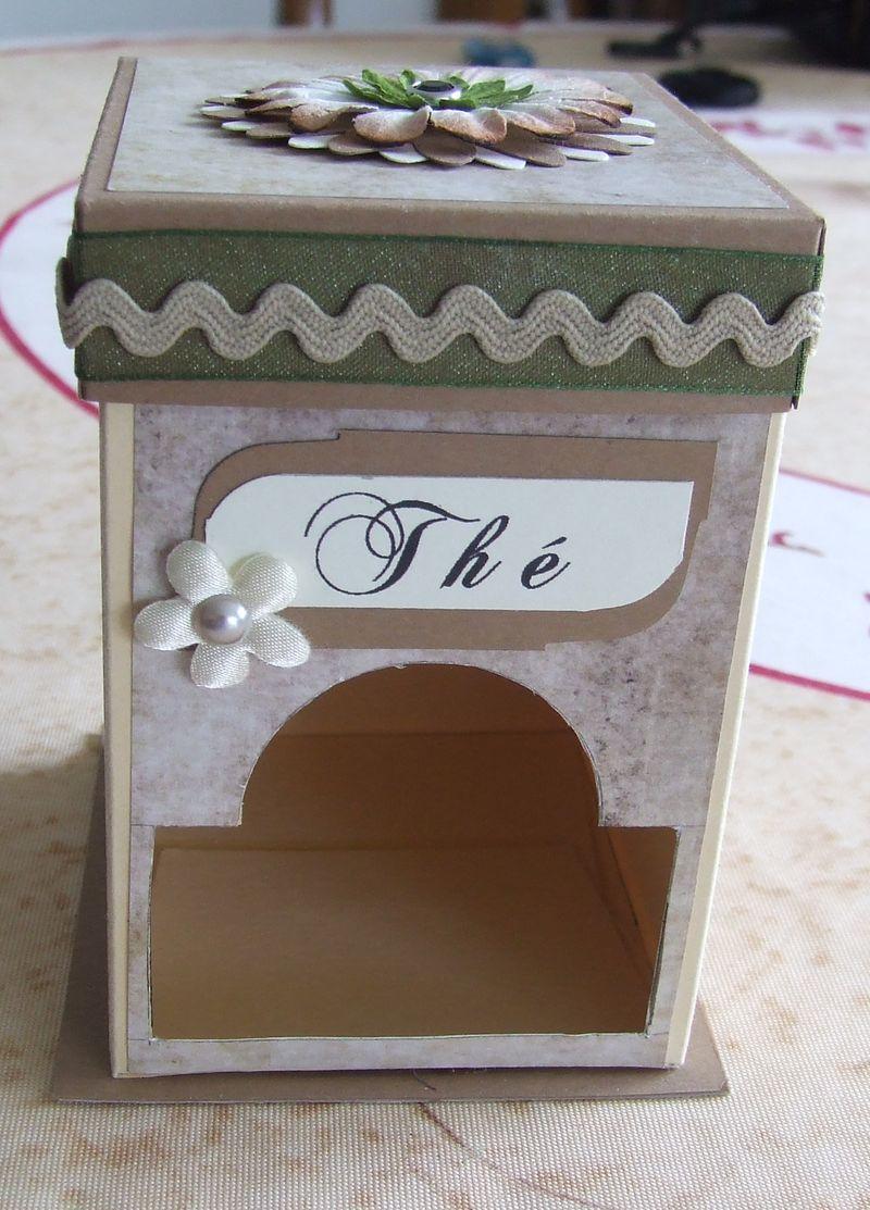 Boîte distributeur de sachets de thé  Boitet16