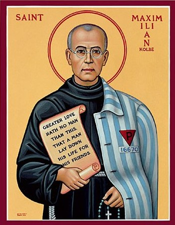 Saint Maximilien-Marie Kolbe : Fête le 14 août Kolbe11