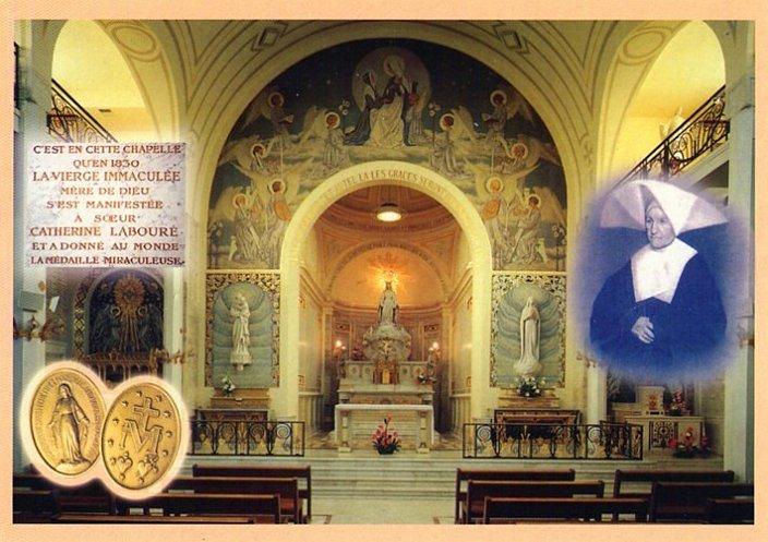 Neuvaine à Notre Dame de la Médaille Miraculeuse Pairs_12