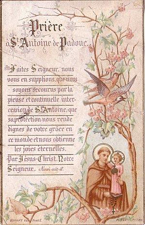 Saint Antoine de Padoue, docteur de l'Église 13 juin Saint_16