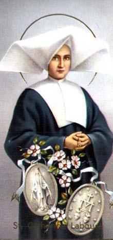 Neuvaine avec Sainte Catherine Labouré (Médaille Miraculeuse Sainte18
