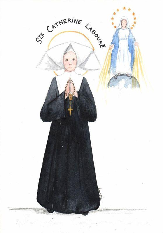 Neuvaine avec Sainte Catherine Labouré (Médaille Miraculeuse Sainte19