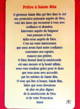 Pour les causes désespérées : Sainte Rita Sainte29