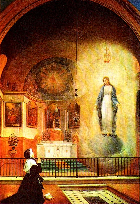 Neuvaine avec Sainte Catherine Labouré (Médaille Miraculeuse St_cat11
