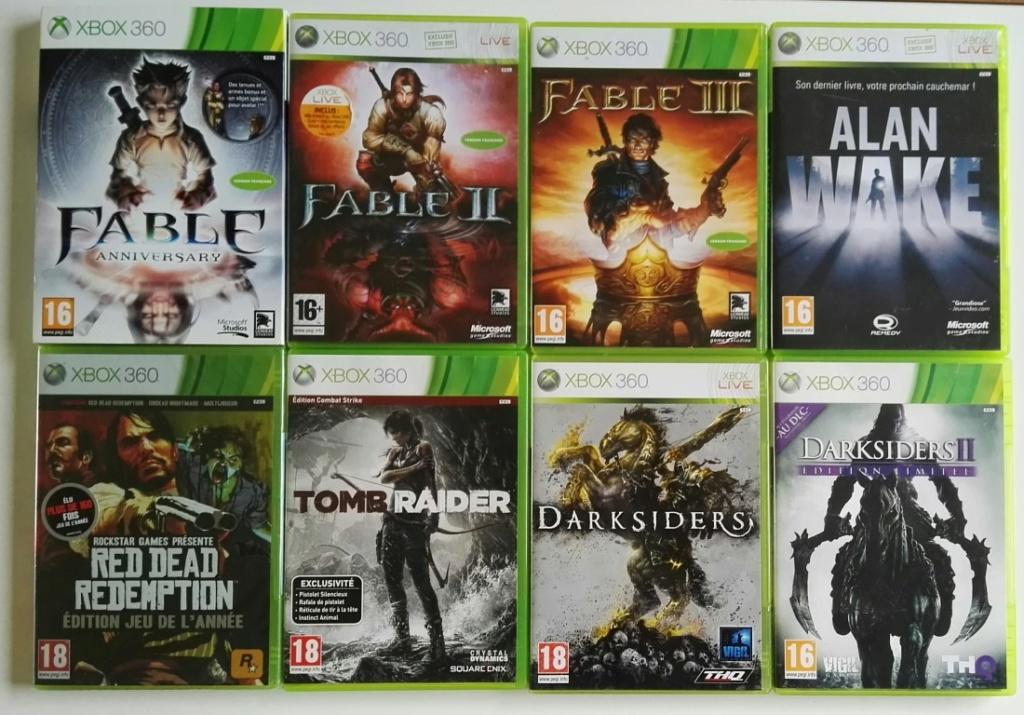 [Vds] Lot de jeux Xbox 360 petit prix (promo 25€ in) Xbox3610