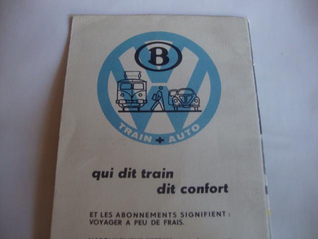 Dépliant Train et autos chemins de fer Belge Dsc02414