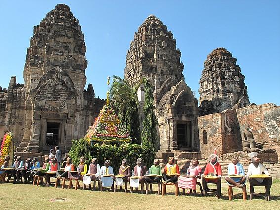 Le Temple des Singes de Lopburi Banque10