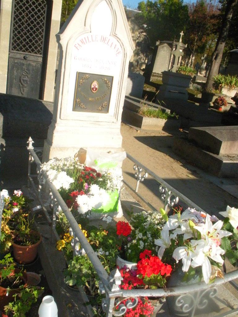 Vandalisme sur la tombe de Gabriel DELANNE Gabrie11