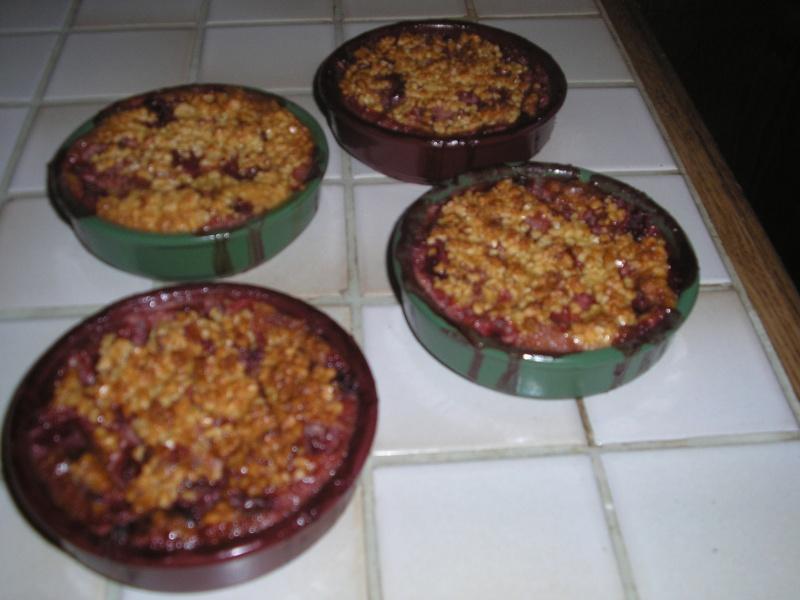 gratin de fruits rouges Piscin10