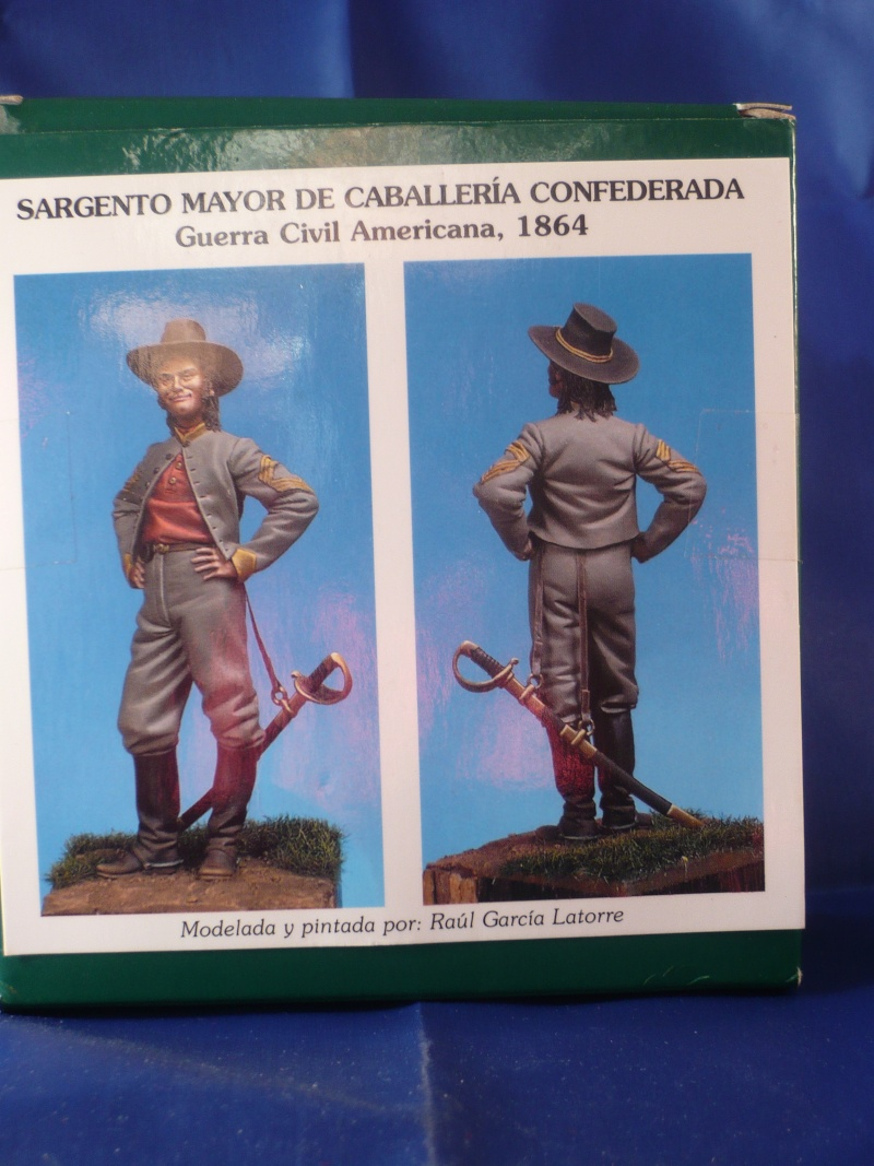GB Paddyfigurine: Sergent de cavalerie confédérée  Figur249