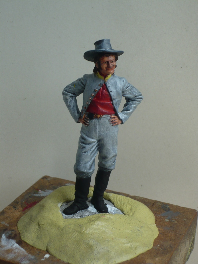 GB Paddyfigurine: Sergent de cavalerie confédérée  Figur306
