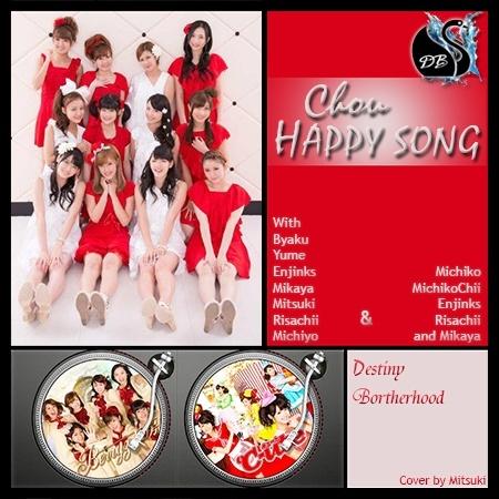 [TERMINE] Berryz Koubou & C-ute - Chou HAPPY SONG  Cover_27