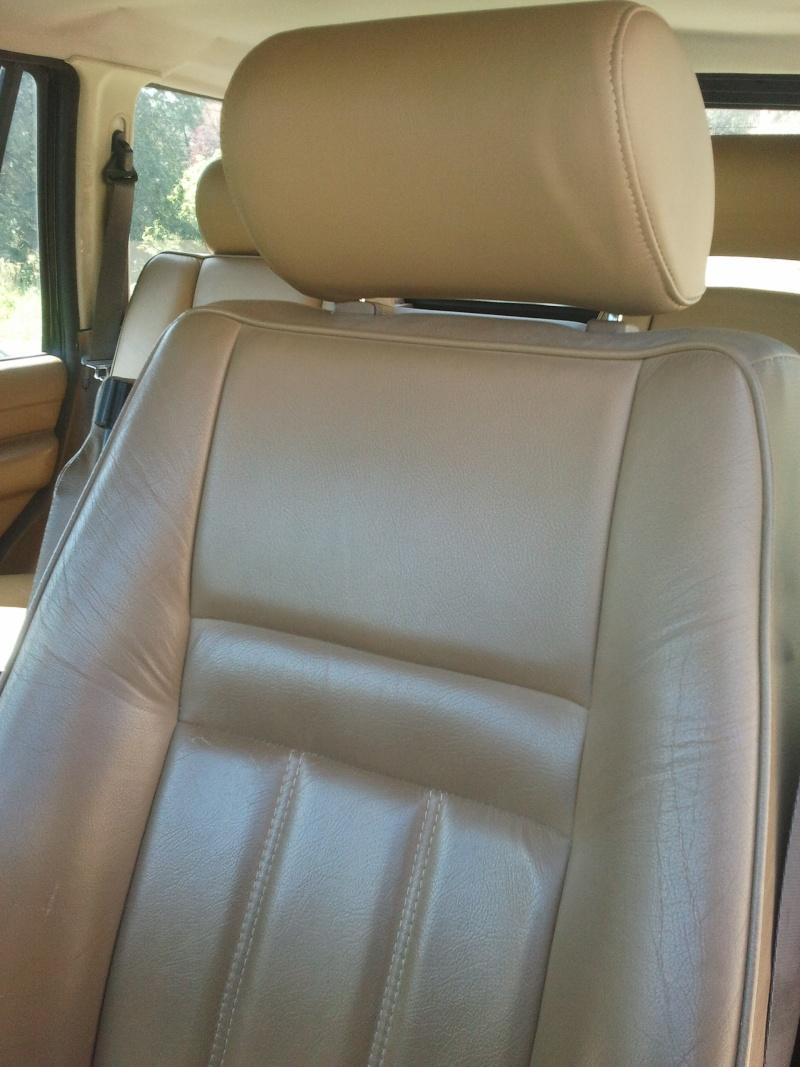 Revêtements de sièges avant en cuir beige... Siage_10