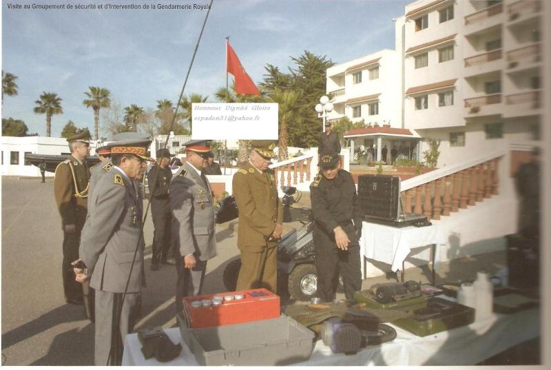 Groupement de Sécurité et d'Intervention de la Gendarmerie Royale ( GIGR - GSIGR ) - Page 2 Photo110