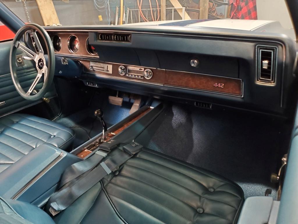 Presentation de la voiture du mois: Oldsmobile 442 1970 de Revving455 20200710